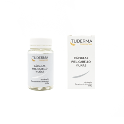 SKIN, HAIR AND NAILS CAPSULES TUDERMA - PACK 3