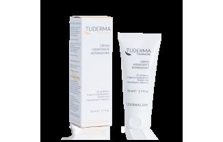 Nueva Crema Hidratante Reparadora TUDERMA ideal para calmar e hidratar tu piel