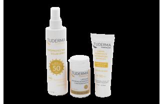 Protégete bien del sol este verano con los nuevos productos solares de TUDERMA